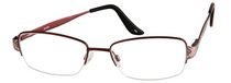 Nikita BL094 Red Ladies Flex Metal Semi Rimless Frame