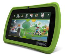"LeapFrog 7"" Epic™ Kids Learning Tablet - Green"