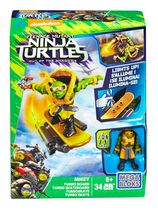 Coffret de construction Planche turbo Michelangelo des Tortues Ninja de Mega Bloks