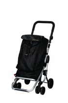 "Playmarket ""Go Up"" Shopping Trolley - Black"