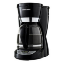 Black & Decker 12-Cup Programmable Coffeemaker- CM1050WD Black