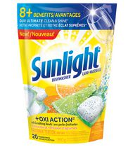 Sunlight® OxiAction Power Pacs Lemon Fresh 20 count