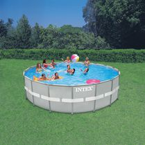 Intex 18ft x 52ft Ultra Frame™ Round Above Ground Pool Set