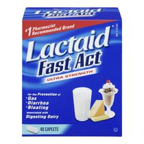 Lactaid® Fast Act Ultra Strength Caplets