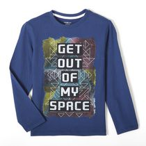 George Boys' Long Sleeved Graphic Tee L(14)