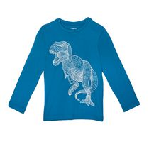 George Boys' Long Sleeved Graphic T-Shirt XL(16)