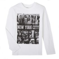 George Boys' Long Sleeved Graphic Tee XL(16)