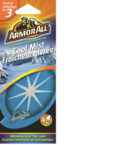 Armor All Air Freshener - Cool Mist, Pack of 3