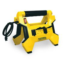 Stanley Power Horse Grounded 8- Outlet Upright Power Center