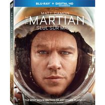 The Martian (Blu-ray + Digital HD) (Bilingual)