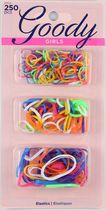 Goody Girls Mini Latex Cheerful Elastics - Assorted