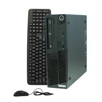 Lenovo Thinkcentre Refurbished Desktop Computer (Intel Core 2 Duo E7600 3.06GHz), M70E - Black
