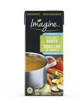 Imagine Organic Low Sodium Vegetable Broth- Gluten Free