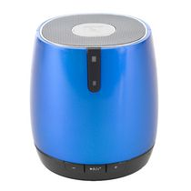 blackweb SoundPebble Portable Wireless Speaker French Blue
