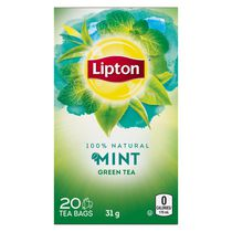 Lipton® Mint Green Tea Bags