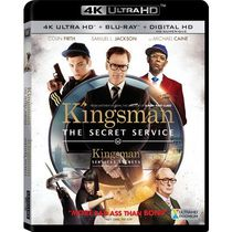 Kingsman: The Secret Service (4K Ultra HD + Blu-ray + Digital HD) (Bilingual)
