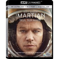 The Martian (4K Ultra HD + Blu-ray + Digital HD) (Bilingual)