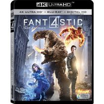 Fantastic Four (2015) (4K Ultra HD + Blu-ray + Digital HD) (Bilingual)