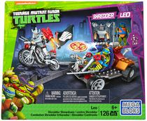 Coffret de Leo contre Shredder Les Tortues ninja de Mega Bloks