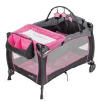 Evenflo BABYSUITE 300 KOI PARTY PINK Playard