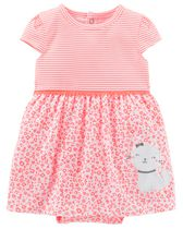 Child of Mine made by Carter's Newborn Girls' 1 piece Kitty Outfit 24M