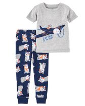 Child of Mine made by Carter's Toddler Boys' 2-Piece Pyjama Set - Planes 4T