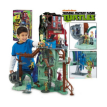 Teenage Mutant Ninja Turtles - Playsets - Super Sewer Lair Playset