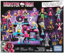 Coffret de construction Groupe Glam Ghoul Monster High de Mega Bloks