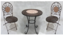 3 Piece Wicker Bistro Set