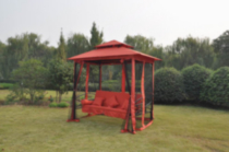 Gazebo Swing - Red