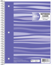 Hilroy Fashion Coil Notebook 3 hole with Margin 1 Subject