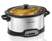 Hamilton Beach® 5 Quart Portable Slow Cooker