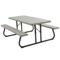 Lifetime 6' Picnic Table - putty