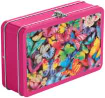 3D Tin Pencil Box