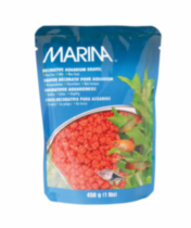 Decorative Aquarium Gravel, Orange 450g