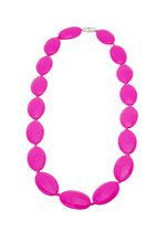 Tiny Teethers Bluegrass Teething Necklace Pink