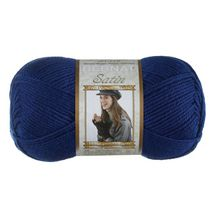 Bernat Satin Yarn Loyal Royal