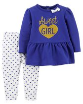 Child of Mine made by Carter's Newborn Girls' Sweet Girl 2-Piece Set 18M