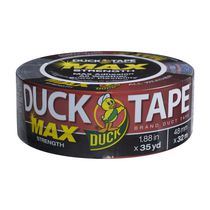 Duck Tape® Max - Black, 48 mm. x 41 m.