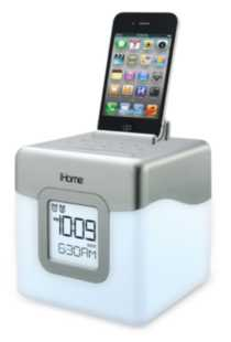 iHome Color Changing Alarm Clock Speaker System