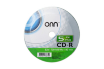 Onn CD-R - 5 Pack
