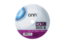DVD+R 10 PACK SHRINK WRAP