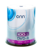 DVD+R 100PACK CAKE BOX
