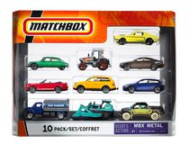 Matchbox 10 Pack - Styles May Vary