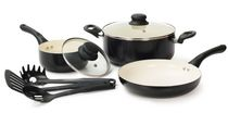 Starbasix 8-Piece Non-stick Ceramic Cookware Set