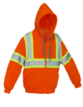 Forcefield High Visibility Safety Hoodie XXL