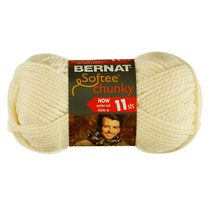 Bernat Softee Chunky Yarn Natural