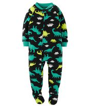 Child of Mine made by Carter's Infant Boys' 1-Piece Dinosaur Fleece Sleeper Pyjamas 12M