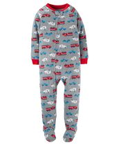 Child of Mine made by Carter's Infant Boys' 1-Piece Emergency Fleece Sleeper Pyjamas 18M