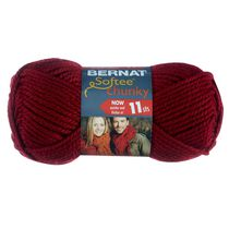 Bernat Softee Chunky Yarn Wine
